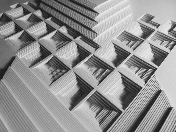 Jacky Cheng, Shadow Weave, 2018, 58x38cm, Acid-Free 110gsm Archival Paper, Hahnemühle Paper, Oil Paint (Details)