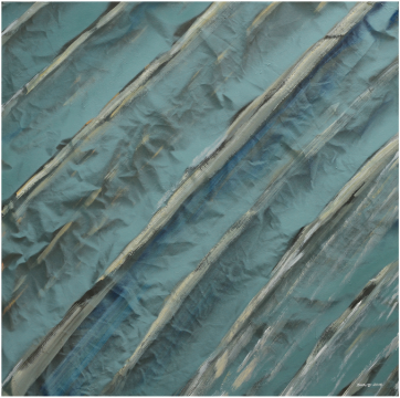 Silk Road #98, 2018, 142 X 142 cm, Acrylic on canvas