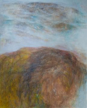 Terra Firma, 2017, 152cm x 122cm, Oil on Canvas